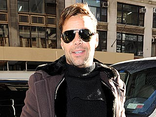 Ricky Martin Takes His Twins out for Lunch in N.Y.C. | Ricky Martin