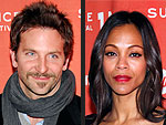 Bradley Cooper & Zoe Saldana Party in L.A. – with His Mom! | Bradley Cooper, Zoe Saldana
