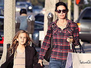 Courteney Cox Buys Clothes for Daughter Coco | Courteney Cox