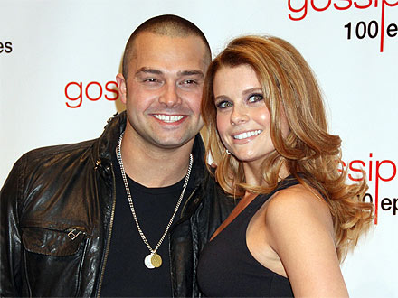 Joanna Garcia & Hubby Nick Swisher's Burlesque Date Night