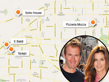 Cindy Crawford's Hubby Rande Gerber Shares His Favorite Hotspots