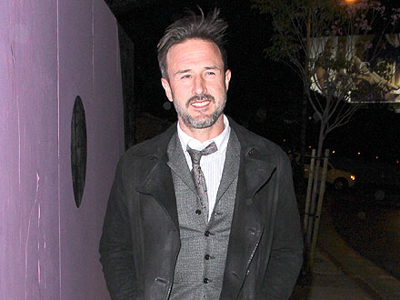 David Arquette Takes It Easy at the Chateau | David Arquette