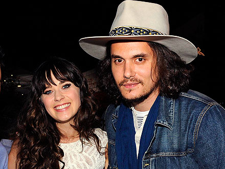 John Mayer, Zooey Deschanel Hold Court at Chateau Marmont | John Mayer, Zooey Deschanel