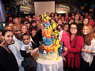 Rosie O'Donnell Turns 50 and Parties with Mike Tyson!