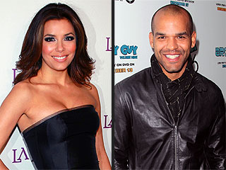 Eva Longoria Shares Sweet Cocktails with Amaury Nolasco