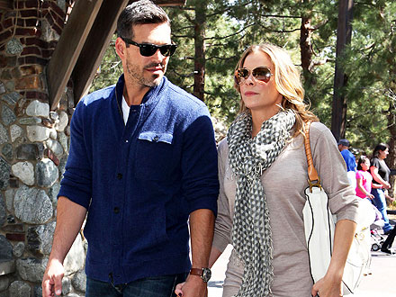 LeAnn Dotes on Eddie's Kids at Easter Meal | Eddie Cibrian, LeAnn Rimes