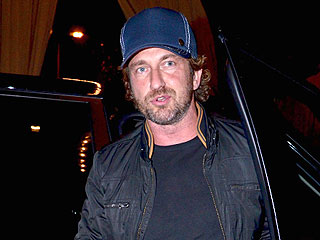 Gerard Butler and Gabriel Aubry Hit Hollywood Hotelier's Birthday Bash | Gerard Butler