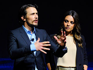 Mila Kunis Hits Vegas with James Franco | James Franco, Mila Kunis
