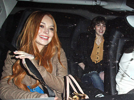 Lindsay and Ali Lohan&#39;s Chain-Smoking Sisters&#39; Night Out | Ali Lohan, Lindsay Lohan