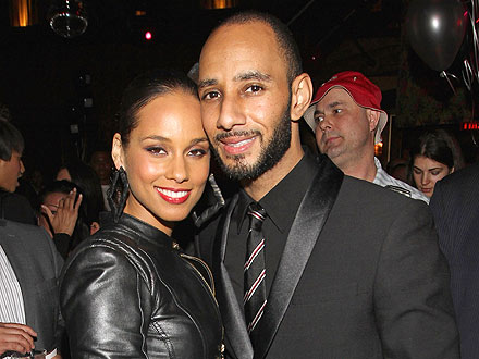 Alicia Keys & Swizz Beatz Bid Against Each Other at Charity Auction | Alicia Keys, Swizz Beatz