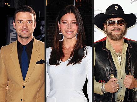 How Fowl! Justin Timberlake Talks About Turkey Hunting with Hank Williams Jr.   Jessica Biel, Justin Timberlake