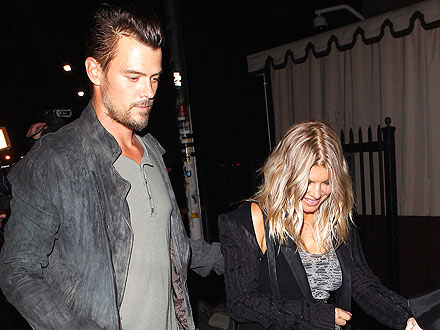 Fergie & Josh Snack on Sweets at Pal's Birthday Bash | Fergie, Josh Duhamel