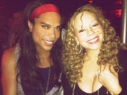 Mariah Carey Parties Until 2 a.m. at West Hollywood Gay Bar! | Mariah Carey