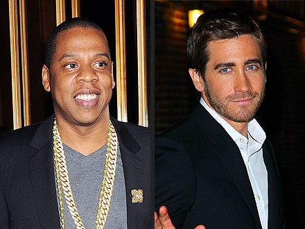Jake Gyllenhaal Parties with Jay-Z – and the Rapper's In-Laws!