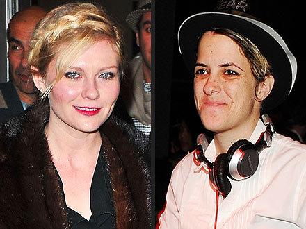 Kirsten Dunst&#39;s New Party Pal: Samantha Ronson! | Kirsten Dunst, Samantha Ronson