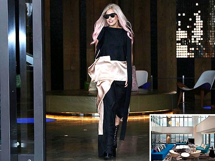 Lady Gaga Retreats in a Hotel Room Worth More than &#36;12,000 a Night! | Lady Gaga