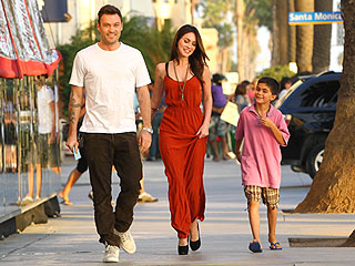 Megan Fox, Brian Austin Green & His Son Hit the Nail Salon | Anna Paquin, Brian Austin Green