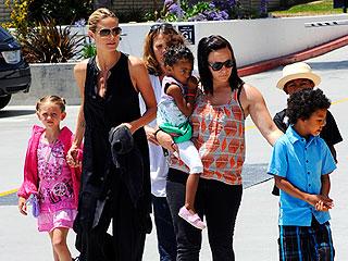 Heidi Klum Treats Her Kids to a Movie & M&Ms | Heidi Klum