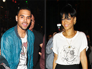 Chris Brown Sneaks a Peek at Rihanna While Partying at Same N.Y.C. Club | Chris Brown, Rihanna