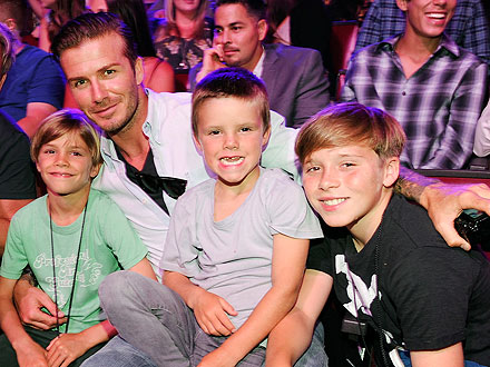 David Beckham Takes His Sons Out for a Boys&#39; Only Movie Day | David Beckham