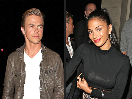 Derek Hough & Nicole Scherzinger Go Club-Hopping in Hollywood