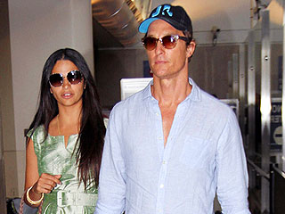 Matthew McConaughey and Camila Alves Attend  (Another!) Wedding | Matthew McConaughey