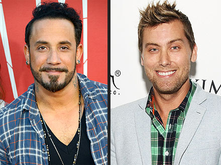 Boy Band Mashup! A.J. McLean & Lance Bass Meet at the Movies