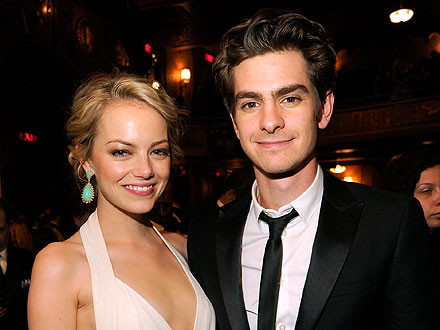 Emma Stone & Andrew Garfield&#39;s Lovey-Dovey Group Date | Andrew Garfield, Emma Stone