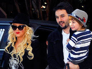 Christina Aguilera and Matt Rutler Share a Five-Course Dinner Date with Her Son Max | Christina Aguilera