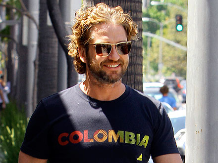 Gerard Butler Chows Down On a (Really Huge) Mexican Food Feast | Gerard Butler