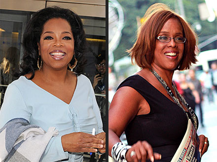Oprah & Gayle King's Fan-Filled Lunch
