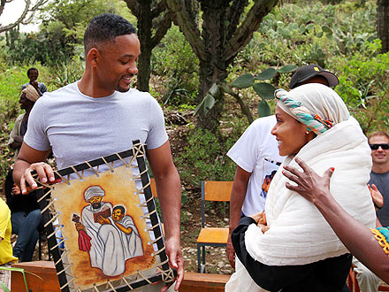 Will Smith, Jada Pinkett Smith Visit Ethiopia for Charity