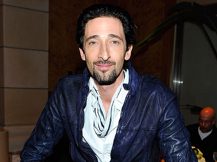 Adrien Brody 'Attached at the Hip' to Mystery Brunette in West Hollywood | Adrien Brody