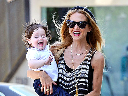 Rachel Zoe Gets Busy Styling Her Son Skyler