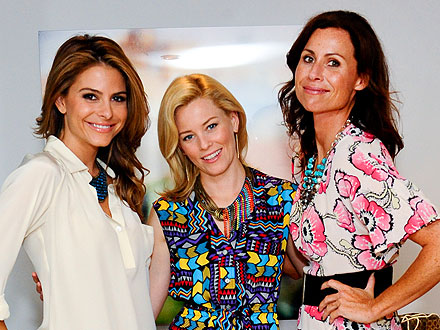 Elizabeth Banks's Fashionable Ladies' Night Out | Elizabeth Banks, Maria Menounos, Minnie Driver