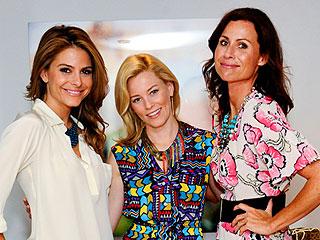 Elizabeth Banks's Fashionable Ladies' Night Out | Elizabeth Banks, Maria Menounos, Minnie Driver