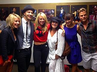 Julianne Hough Gives Gavin DeGraw a Lap Dance During a DWTS Night Out | Derek Hough, Gavin DeGraw