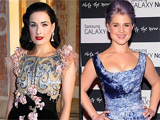 Dita Von Teese & Kelly Osbourne Hang Together in L.A. | Dita Von Teese, Kelly Osbourne