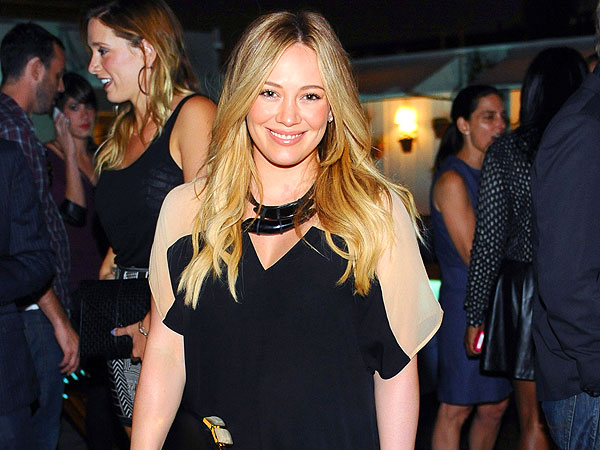 Hilary Duff Trades Diapers for Dancing in West Hollywood