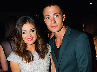 Lucy Hale 'So Happy' to Have Drinks with Colton Haynes at Chateau Marmont | Lucy Hale