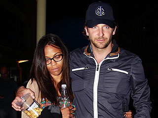 PHOTO: Bradley Cooper & Zoe Saldana Step Out Together in Hollywood | Bradley Cooper, Zoe Saldana