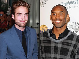 Which Basketball Star Told Rob Pattinson He's a 'Big Fan' in L.A.? | Kobe Bryant, Robert Pattinson