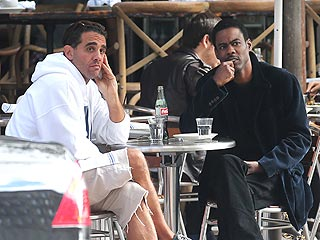 Chris Rock & Bobby Cannavale Find Themselves in a Pickle in N.Y.C. | Bobby Cannavale, Chris Rock