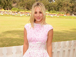 Kaley Cuoco Horses Around at the Veuve Clicquot Polo Classic | Kaley Cuoco-Sweeting