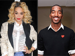 Rita Ora & J.R. Smith Get Sporty in N.Y.C.