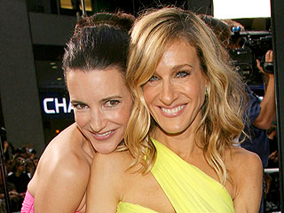 Sarah Jessica Parker & Kristin Davis Share Laughs but No Cosmos | Kristin Davis, Sarah Jessica Parker