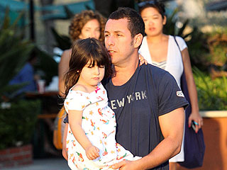 Adam Sandler Films Daughter&#39;s Karaoke Performance | Adam Sandler