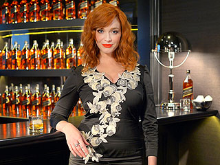 Christina Hendricks Tastes Whiskey and Talks Mad Men | Christina Hendricks