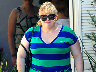 Pitch Perfect's Rebel Wilson Dines with a Mystery Man | Rebel Wilson
