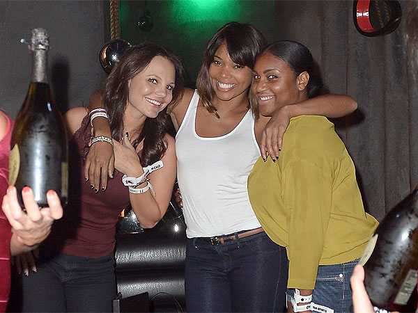 Gabrielle Union's Champagne Singalong in Miami